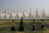 Kuthodaw Pagoda March