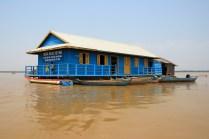 Auch bei Hochwasser: Der Unterricht findet statt
