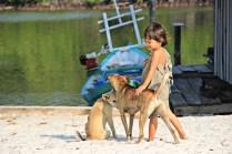 Morgenstund' mit Mensch und Hund