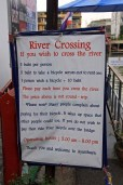 River Crossing Rules