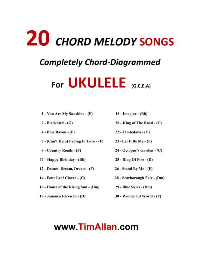 Fantastic Ukulele Chords For Blackbird Gift - Chord Sites - creation ...