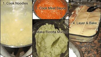 Lasagna Steps