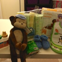 DIY Diaper Cake: Bicycle, Tricycle, and Dirt Bike