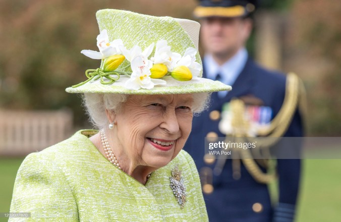 Kuningatar Elisabet vuonna 2021