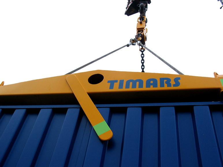 Timars logo på ett CLift verktyg.