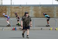 Bill Begg, renown internationally as a skating coach