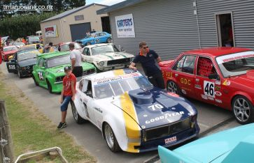 Muscle cars rearing to go !