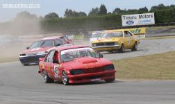 Greg Donaldson, from Ashburton, in his 1981 Holden Commodore