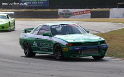 Johnny Waldron, from Alexandra, in his Nissan R32 Gt-R