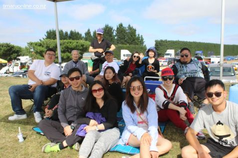 Wei Li, and his supporters from Christchurch.