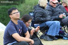Wei Li, of Christchurch, sits out this race.