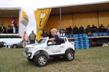 Jacob Gray, from Wellington, son of Super Truck racer Shane Gray, has a truck of his own.