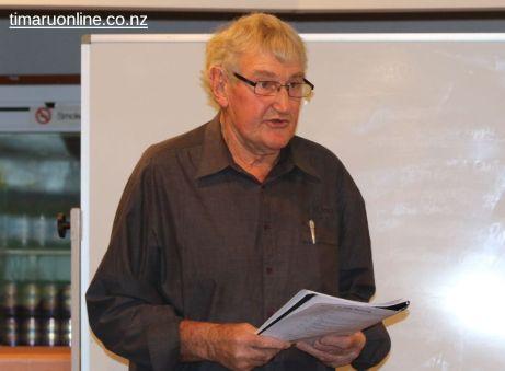 Len King, on behalf of the Mackenzie RFC, nominates Cedric Coll for life membership