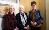 Community volunteers: Liz Shea, Lyn Cruden & Sheryl Frew