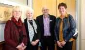 Community volunteers: Liz Shea, Lyn Cruden, Clive Callow & Sheryl Frew, assisted with the United Way NZ grant allocation process.
