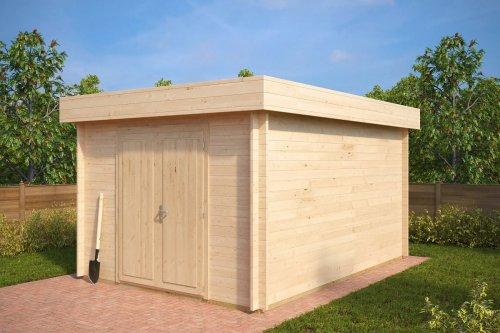 Large Garden Storage Shed Jacob A 12m² / 40mm / 4,4 x 3,2 m