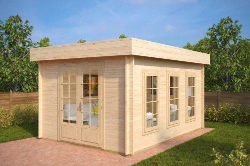 Garden Log Cabin Jacob B 12m² / 40mm / 4,4 x 3,2 m