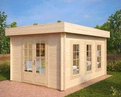Garden Log Cabin Jacob B 12m² / 40mm / 4,4 x 3,2 m
