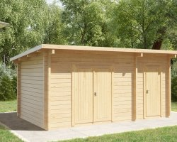 Double Shed Type C / 44mm / 3 x 5 m