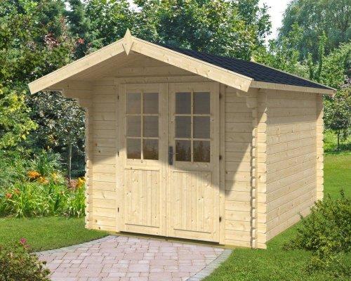 Log Cabin Garden Office Lily L 6,2m² / 28mm / 2,5 x 3 m