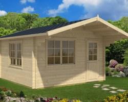 Garden Log Cabin Marcus A 14,5m² / 50mm / 4,1 x 4,1 m