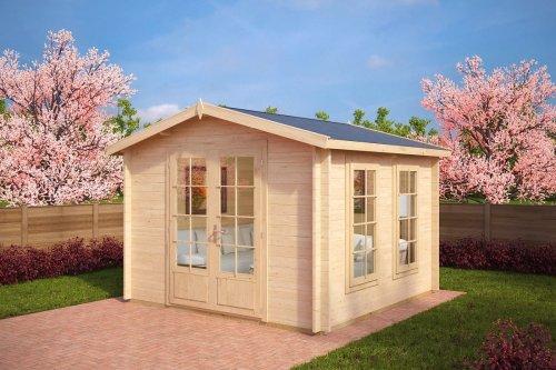 Garden Log Cabin Nora B 8,5m² / 40mm / 3,2 x 3,2 m