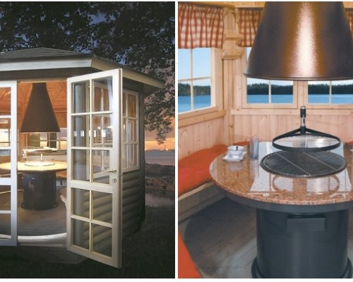 Finnish BBQ Hut Seattle 6m² / 55mm / 3 x 2,6 m