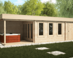 Screen Shot 2019 09 06 at 3.34.42 PM - Garden Room With Shed And Veranda Super Jacob E 18m² / 44mm / 9 X 3 M