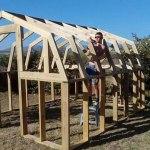 american barn style greenhouse