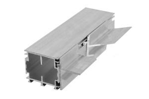 Aluminium-6055 T-schräg