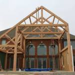 Michigan Timber Frame Raising