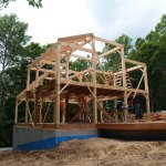 Michigan Great Lakes Timber Frame Home