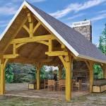 Timber Frame Hammer Beam Pavilion