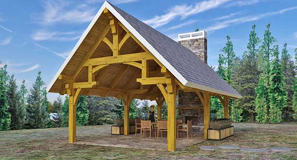 Timber Frame Pavilion Kits – Maximize Your Outdoor Space