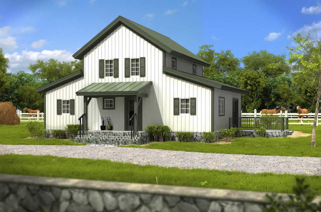 Featured House of the Month: Prairie View Barn Home