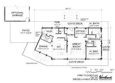 BaliView 1st Floor Plan