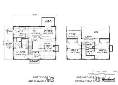 BrookHaven Floor Plan