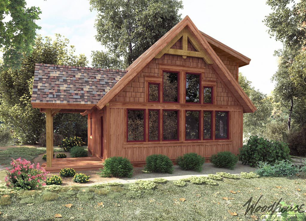 Cedarrun woodhouse the timber frame company for Timber frame farmhouse plans