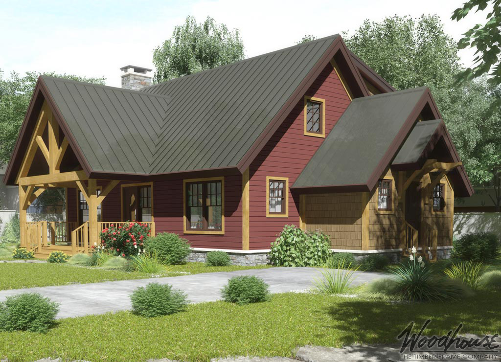 Timber frame home plans woodhouse the timber frame company for Sip builders texas