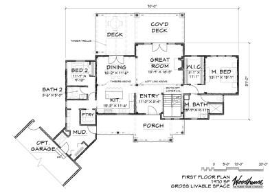 Duclair 1st Floor Plan