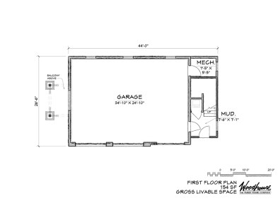 Eastwood Carriage 1st Floor Plan