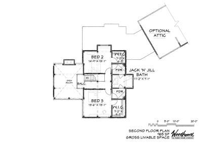 GlenOak 2nd Floor Plan