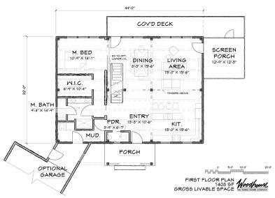 GoldenBrook 1st Floor Plan