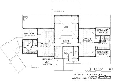 GreatCamp 2nd Floor Plan
