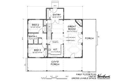 Greenfield 1st Floor Plan