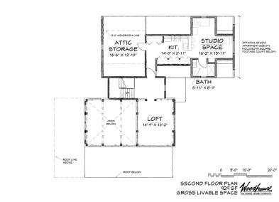 Keystone 2nd Floor Plan