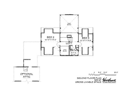 LakeView 2nd Floor Plan