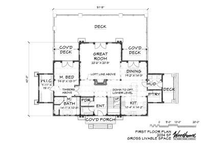 MistyMountain 1st Floor Plan