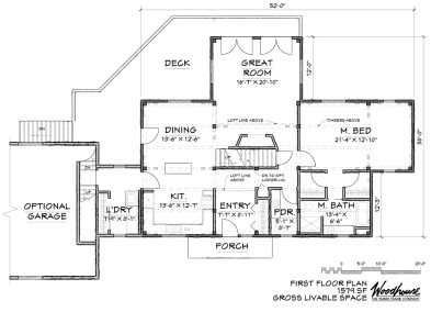 MountainView 1st Floor Plan