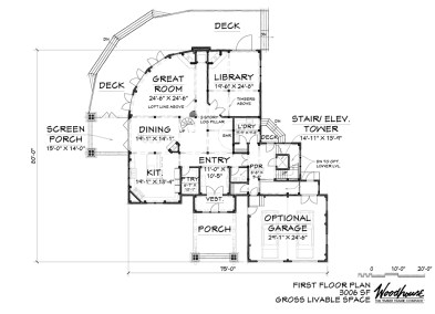 OceanView 1st Floor Plan
